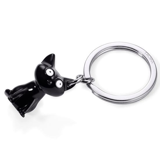 TROIKA(トロイカ) 黒猫のキーリング【フェリックス】