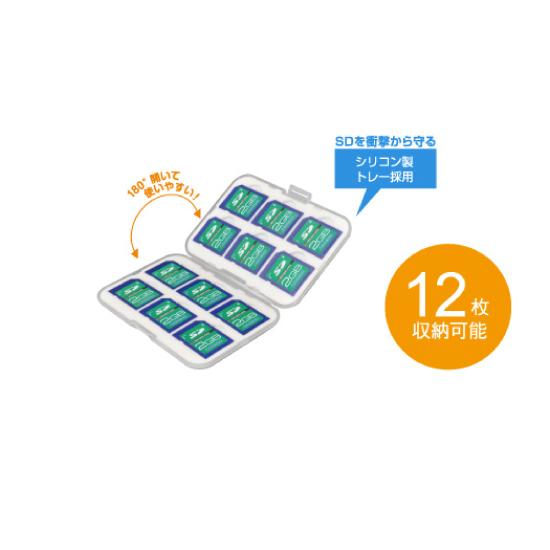 【GREEN HOUSE】SDカードケース